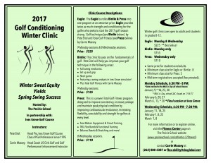 2017 Golf Clinic Flyer Rev 1.11.17